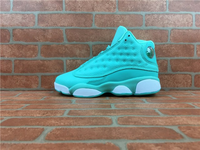 f55dad1aec5 Impeccable Nike Air Jordan 13 XIII mint green 888165 322 Women's Basketball  Shoes Authentic Sports ...