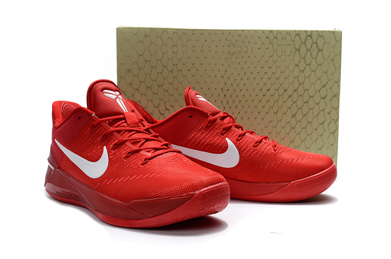 new style a4cd7 7923b ... Attractive Design Nike Kobe A. D. Red White Men s Casual Sports Basketball  Shoes