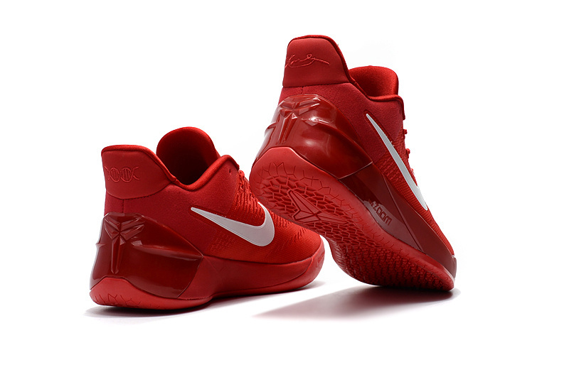 5632e30e9dde ... coupon code attractive design nike kobe a. d. red white mens casual  sports basketball shoes 9cce2 763a6