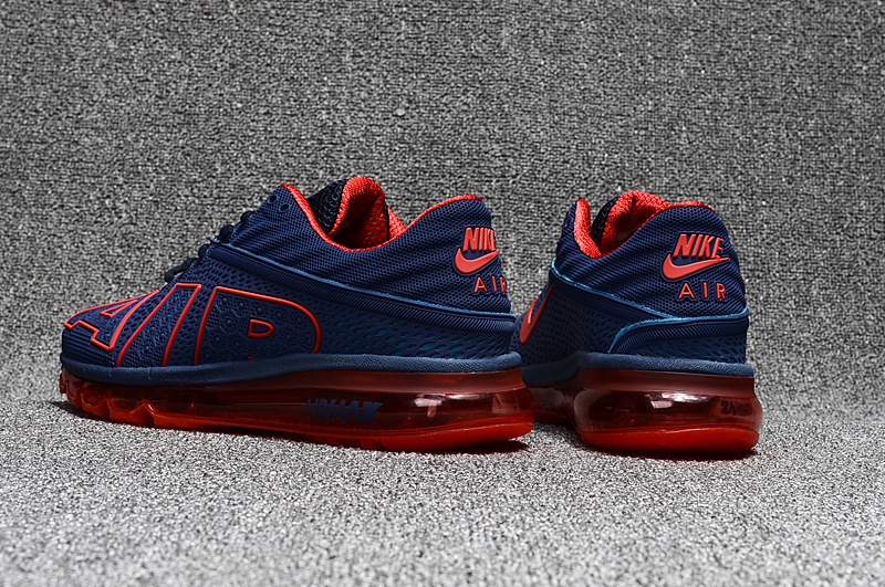Comfortable Nike Air Max Flair AIR Blue Red 942236 056 Mens Shoes