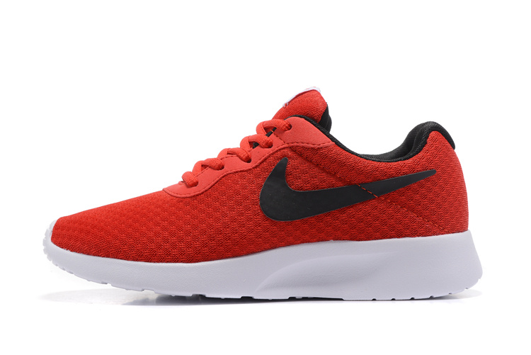 Attractive Design Wmns Nike Tanjun Red Black White 812654 005 Unisex Running  Shoes - ShoesGain.com eda4f31d60f3