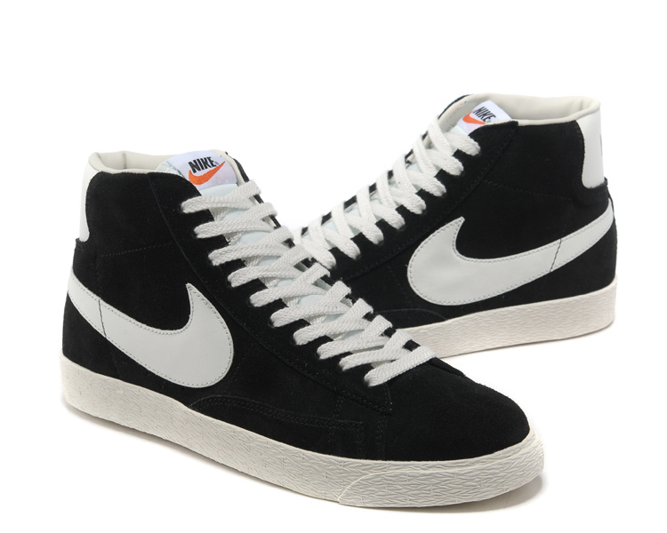 super popular 7d05c e4a54 ... Nike Blazer MID Black White 538282 040 Unisex High Shoes ...