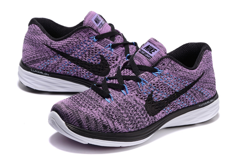 detailed look dc46e 02308 ... Have Personality Nike Flyknit Lunar 3 Purple 698182 500 Women s Shoes  ...