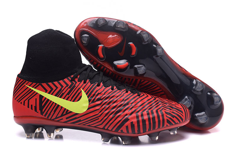 dd86f6813 Top Quality Nike Magista Obra II FG Black Red Zebra Men s Football Shoes ...