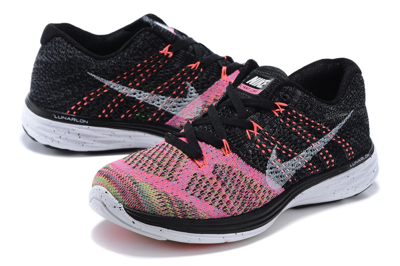cc22a0f59f6b ... ebay reliable quality nike flyknit lunar 3 black pink 698182 003 womens  shoes 4d8d5 fca2e