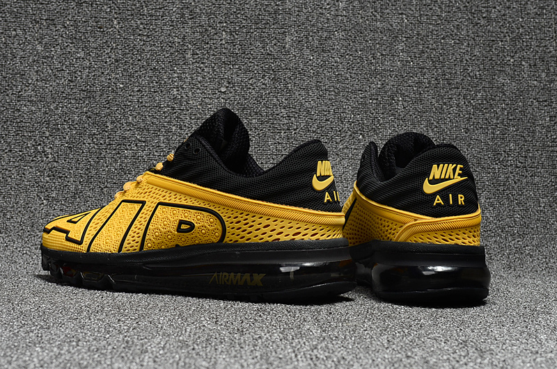 Superior Nike Air Max Flair AIR Yellow Black 942236 009 Mens Shoes