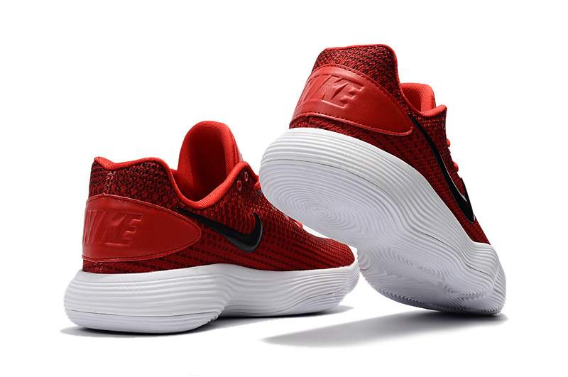 outlet store e7d0b c7ab5 Beautiful Design Nike Hyperdunk 2017 Low Red Black Men s Basketball Shoes  ...