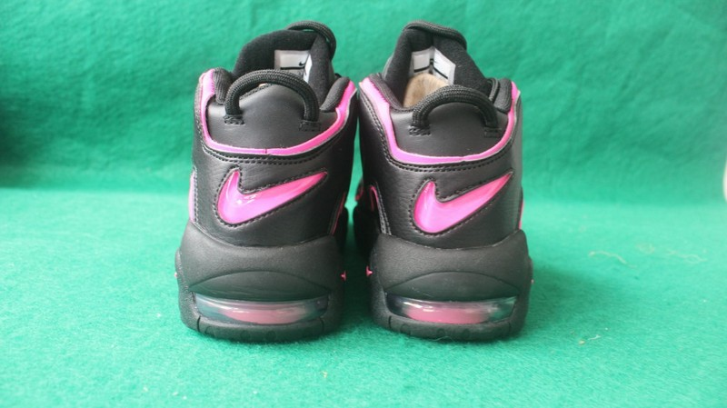 2555341b027e7 ... New Style Nike Air More Uptempo Black Pink 415082 003 Women s Shoes ...