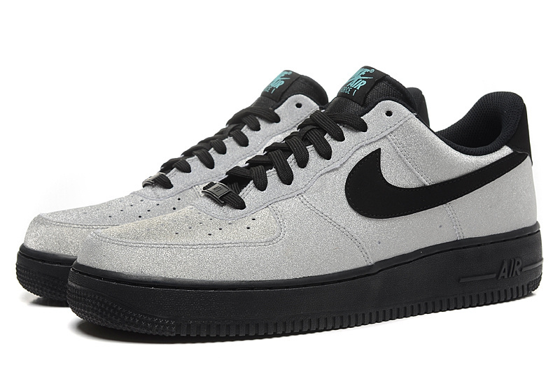 info for d86e5 64b82 Superior Nike Air Force 1 AF1 Tiffany Grey Black 718152 005 Unisex Low  Casual Shoes ...