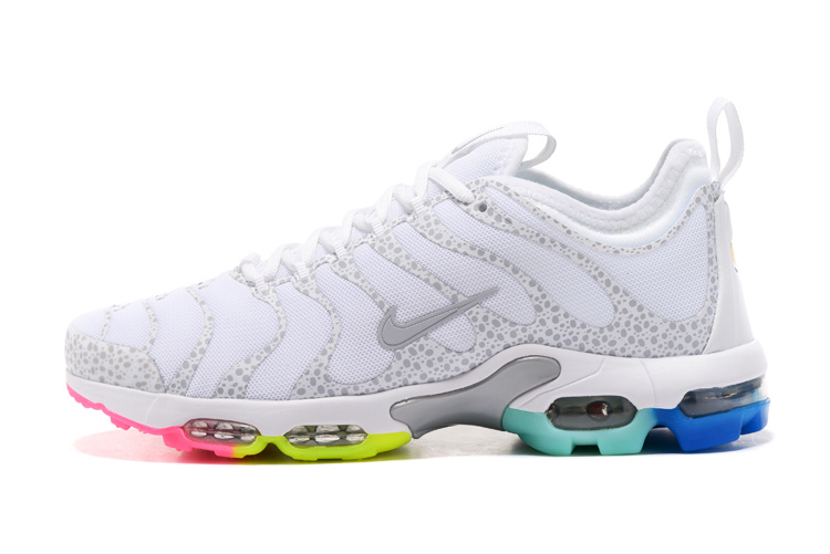 online retailer df9df c6189 Best Sell Nike Air Max Plus TN Ultra White 881560 437 Unisex Running ...