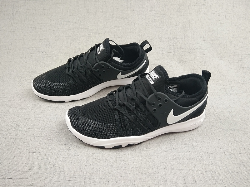 96d7c0464f13 ... Reasonable Price Nike Free TR 7 Black White 904651 001 Unisex Shoes ...