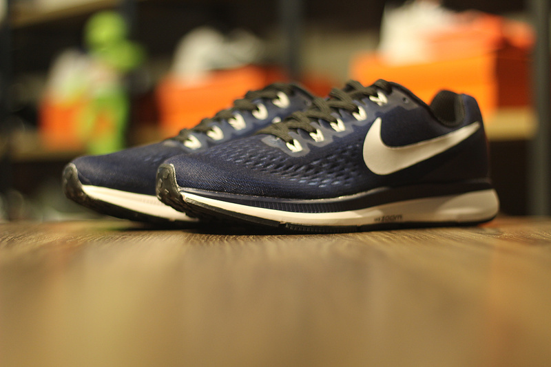 newest e1f16 a7b7d Extravagant Nike Air Zoom Pegasus 34 Blue White 887017 401 Men s Running  Shoes ...