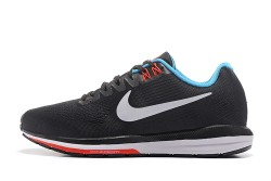 707a497bdd9 Delicate Nike Air Zoom Structure 21 Black Blue White 959576 014 Men s Sport  Running Shoes