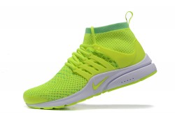 the latest c9e5c 16730 Nike Air Presto TP QS Yellow Green Men s High Sport Running Shoes