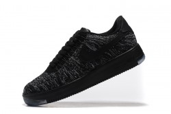 04e06db00e Have Personality Wmns Nike Air Force 1 Flyknit Black Grey 817420 010 Men's  Casual Shoes