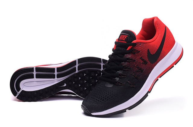 ... Reliable Quality Nike Air Zoom Pegasus 33 Red Black Men s Running Shoes  ... e886772b3