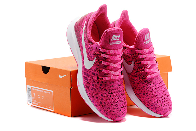 reputable site 6a673 b88d8 ... Zero Defect Nike Zoom All Out Flyknit Pink White 728857 012 Women s  Sport Shoes