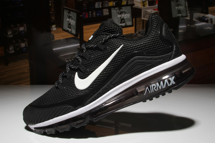 online store c6d20 aa357 ... The cheapest Nike Air Max 2018 Elite Black White Men's Sport Running  Shoes ...