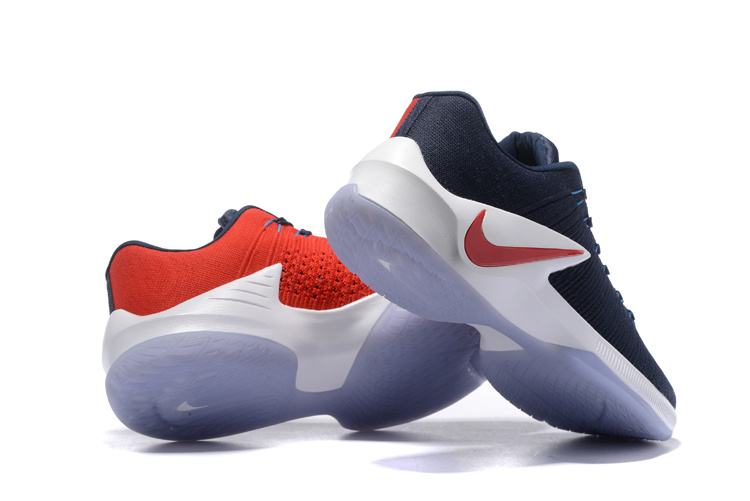 newest b439a bc5f8 ... 50% off new product nike zoom clear out blue white red mens basketball  shoes 18422