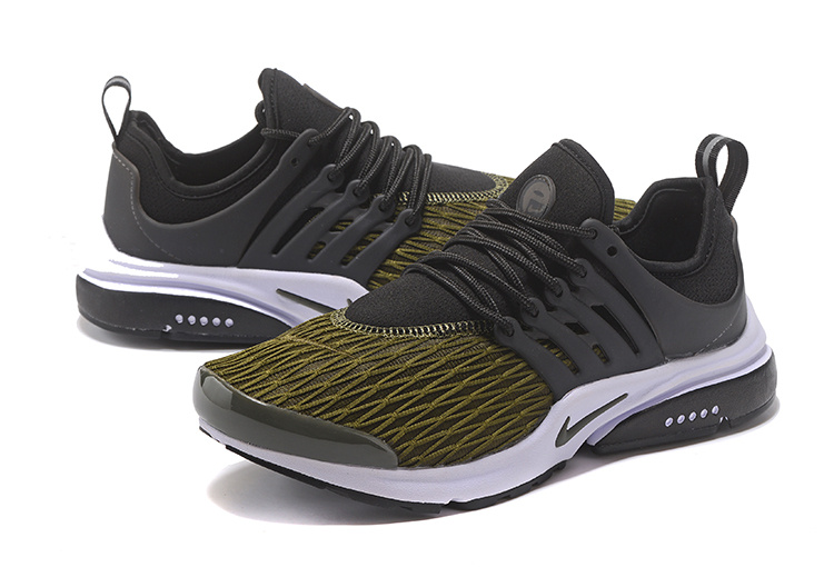 low priced ffe80 f798c New Pattern Nike Air Presto TP QS Black Army Green White Men s Sport  Running Shoes ...