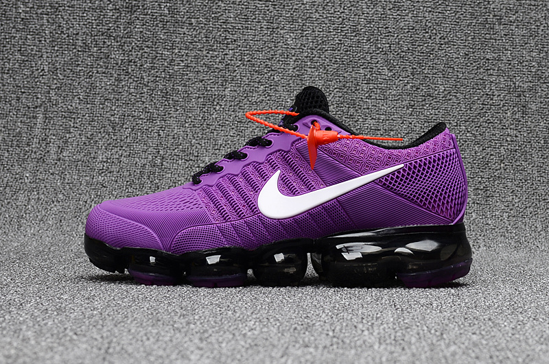 Skillful Manufacture Nike Air Vapormax Plyknit Purple Black ...