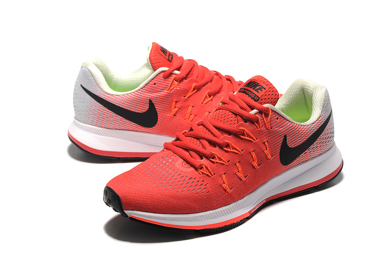 quality design e7a56 a8f03 ... Ventilation Nike Air Zoom Pegasus 33 Red Black White 831352 600 Men s  Running Shoes ...