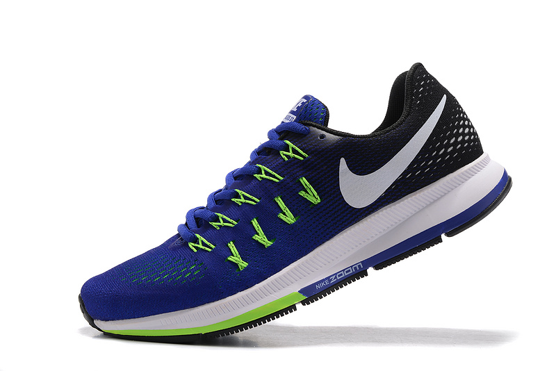 b5bc01e47 Interesting Nike Air Zoom Pegasus 33 Blue Black Green White 831352 ...