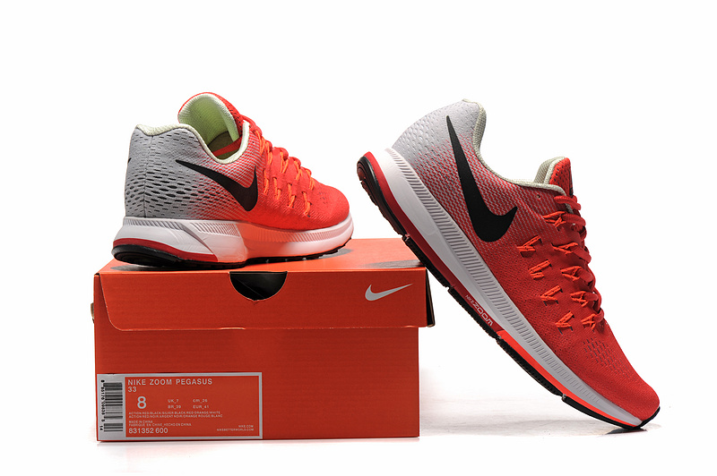 ... Ventilation Nike Air Zoom Pegasus 33 Red Black White 831352 600 Men s Running  Shoes ... a63846f6f