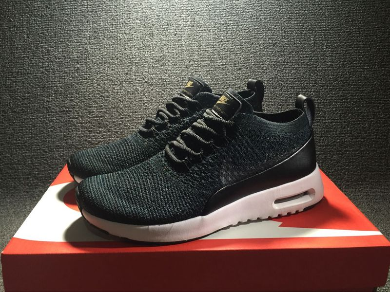5211c3feaa ... Superior Quality Nike Air Max Thea Ultra FK Black White 881175 001  Women's Shoes