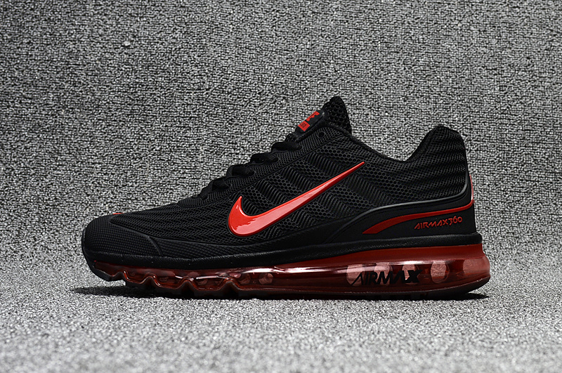 online retailer c57ce be6e3 ... get reasonable price nike air max 360 black red 32e6c 13825 ...