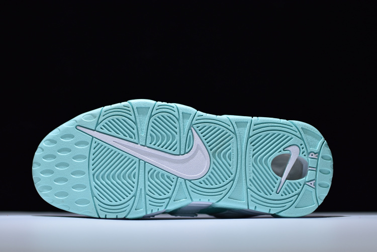 watch 957fa 44f26 ... Nike Air More Uptempo Mint Green White 415082 300 Women s Sport Running  Shoes ...