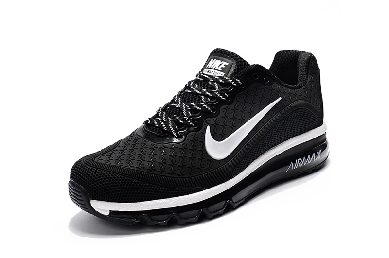 the latest ad52a 6d872 ... Have Personality Nike Air Max 2017. 5 Black White 849559 001 Men s  Running Shoes ...