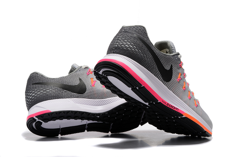 636b5bb6786e ... Zero Defect Nike Air Zoom Pegasus 33 Grey Black Orange White 831352 068 Men s  Running Shoes