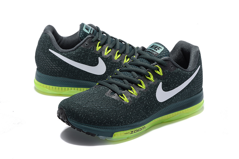 the best attitude 4c438 9b5df ... Durable Nike Zoom All Out Low Blackish Green 878670 300 Men s Running  Shoes ...