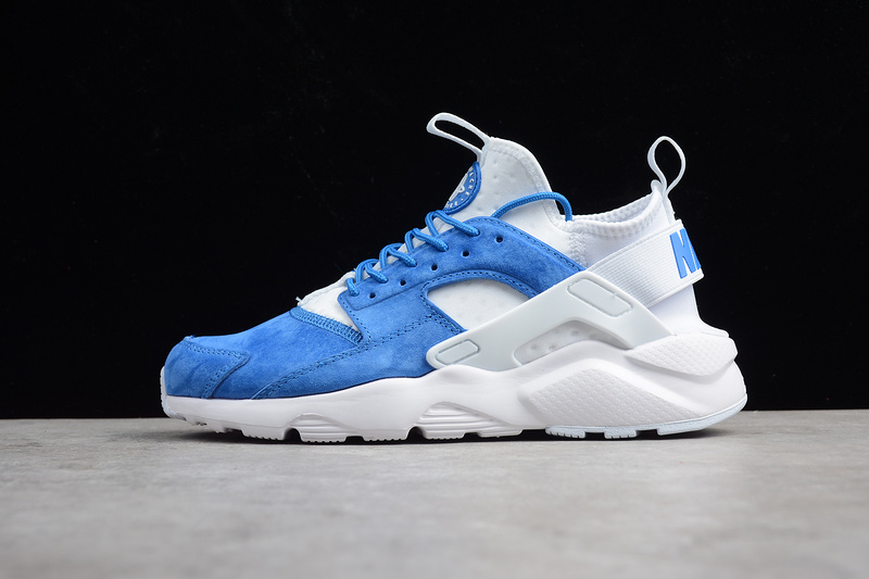d1800952e0f14 ... new arrivals reliable quality nike air huarache run ultra blue white  4c934 cdc3e