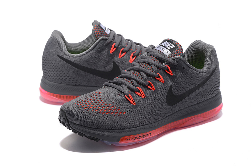 a3d9feac01e ... High Quality Nike Zoom All Out Low Charcoal Grey Orange 878670 022  Men s Running Shoes ...