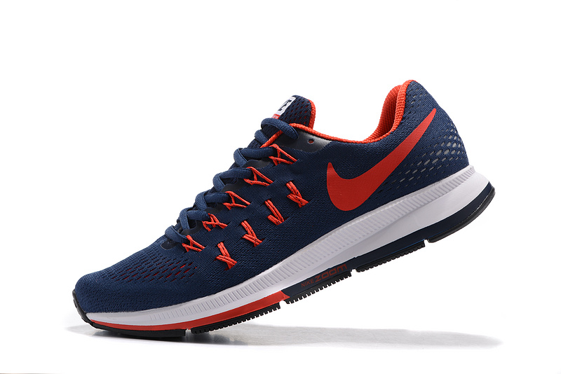 finest selection 8ac20 929fb Reliable Quality Nike Air Zoom Pegasus 33 Blue Red White 831352 012 Men s  ...