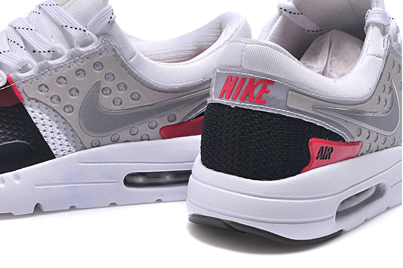 separation shoes f59e2 00e27 ... Reliable Quality Nike Air Max 87 White Black Red Grey 789695 016 Men s  Sport Running Shoes ...