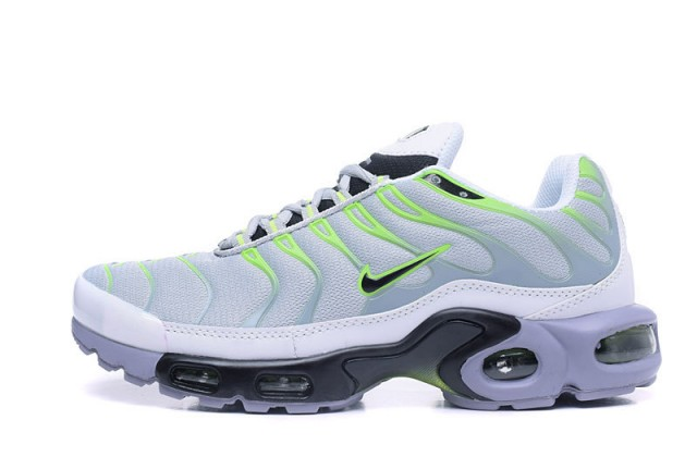 31af9f4d6c New Product Nike Air Max TN Black White Grey Green Women's Sport ...