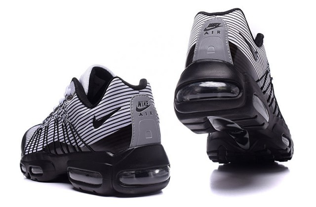 wholesale dealer 2b8e4 e20a8 ... Interesting Nike Air Max 95 Hyp Prm 20 Anniversary Black White 749771  001 Unisex Sport Shoes ...