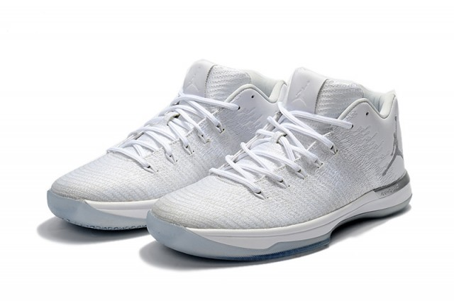 ffa2ba47b45549 ... shopping reasonable price nike air jordan 31 xxxi low white silver mens  basketball shoes 69e8a 4ba97 ...