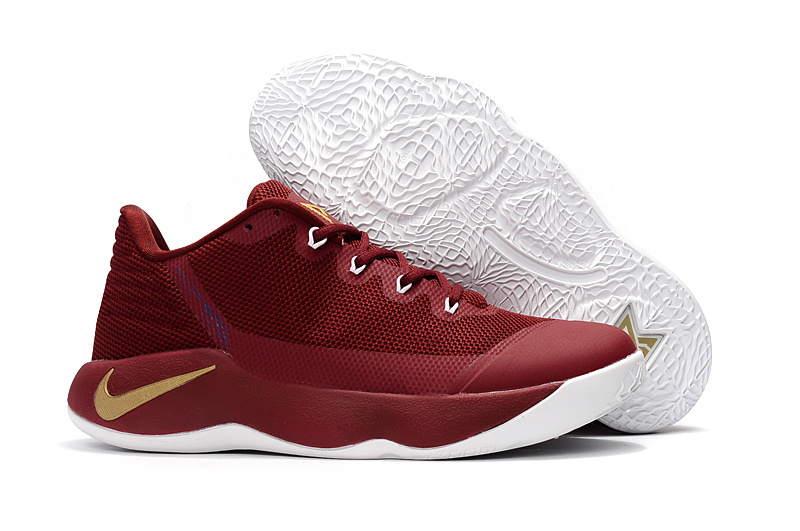 size 40 d0667 67013 ... Nike Paul George PG 2 Wine Red Gold White Men s Basketball Shoes ...