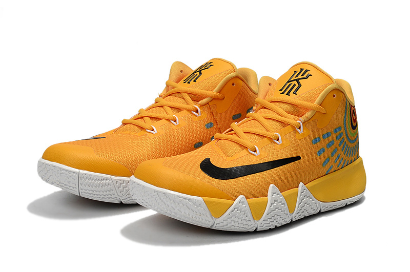 670c22bc25a ... best price nike kyrie lrving 4 yellow black blue mens basketball shoes  8ec21 c1653 ...