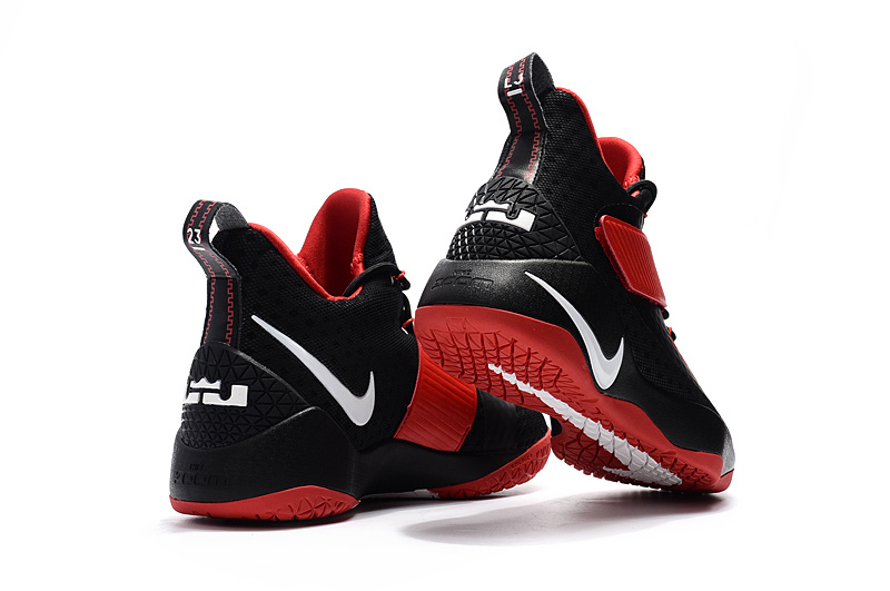 441e14d0556 ... Skillful Manufacture Nike LeBron Soldier 11 Black Red White Men s  Basketball Shoes ...