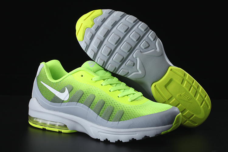 bc09c19679 ... Extravagant Nike Air Max 95 Green White Men's Sport Shoes ...