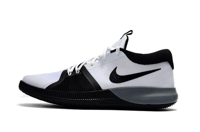 fe1f12087f48 Impeccable Nike Zoom Assersion EP Black White Men s Basketball Shoes ...