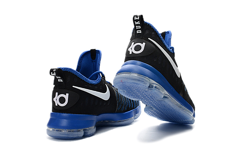 hot sale online fd226 b7fa2 ... New Style Nike Zoom KD 9 Black Blue White Men s Basketball Shoes