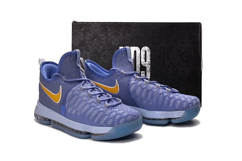 004536b6f0d7 ... low cost attractive nike zoom kd 9 purple gold mens basketball shoes  ee231 fbd90