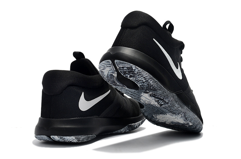 aef70226e5b9 ... Wholesale New arrival Nike Zoom Assersion EP Black White Men s  Basketball Shoes