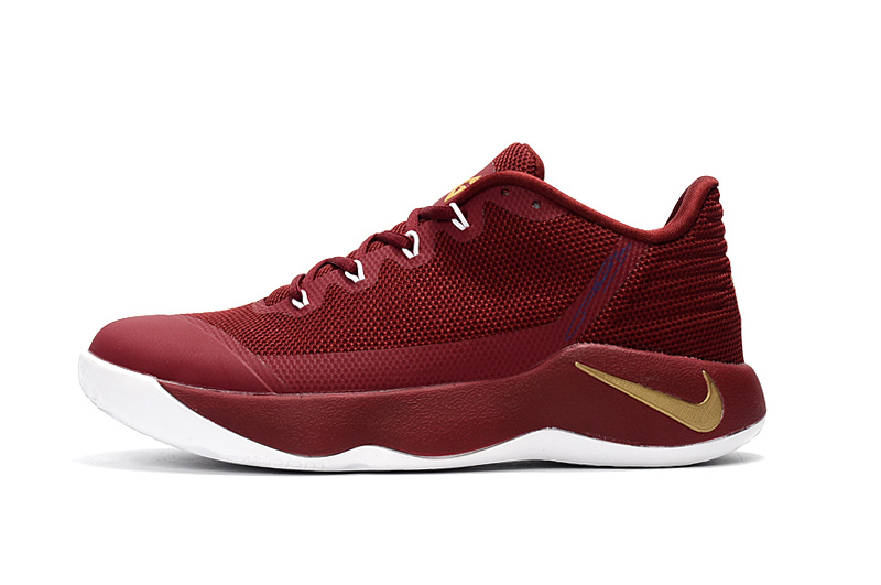 Discount Nike PG 2 Wine_Red Gold Basketball Shoe For Sale